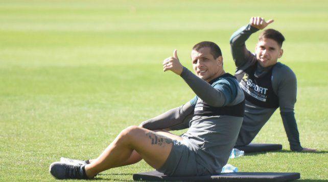 Vecchio cumplió con el segundo entrenamiento de Central en Arroyo Seco.