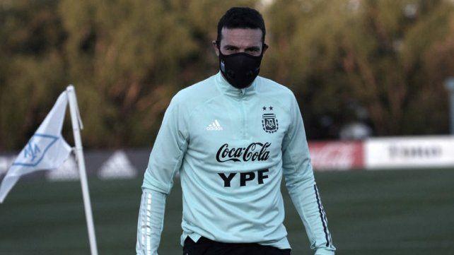 Scaloni se prepara. Argentina
