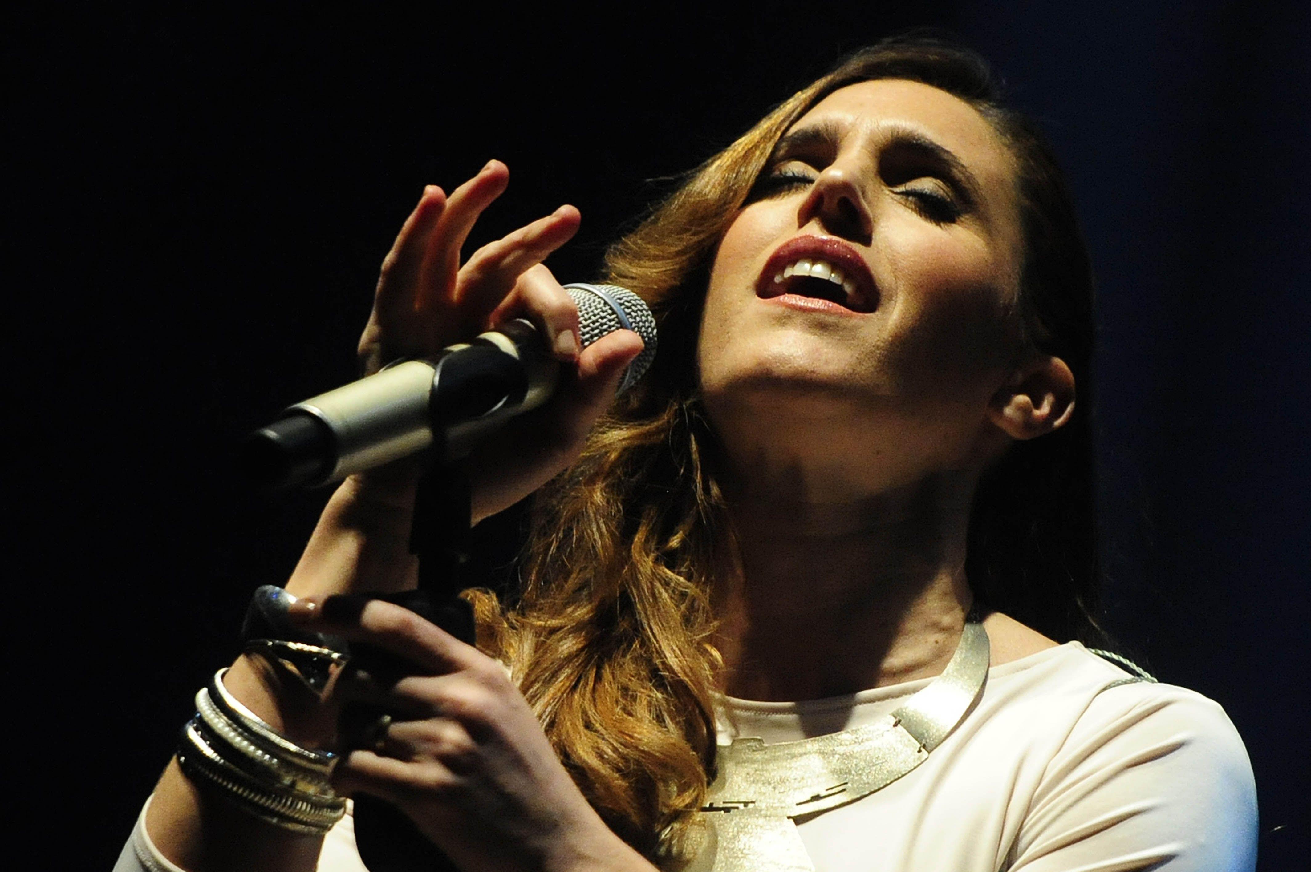 Carismática. Soledad Pastorutti conquistó los corazones de sus fans con clásicos y temas de su último disco.