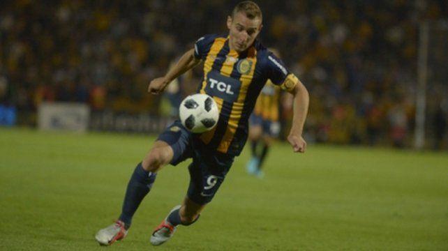 Marco Ruben. El 9 estuvo en Rosario.