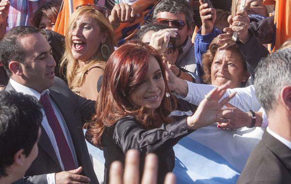 La presidenta participó de la inauguración de un hospital en la capital de Tucumán.