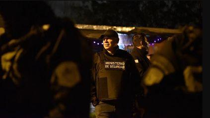 Sergio Berni, ministro de Seguridad bonaerense, encabezó un operativo por narcotráfico que condujo a una conexión entre Rosario y San Nicolás.