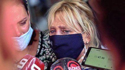 Ana Brugo, la mamá de Julieta Riera. Su femicida fue condenado este jueves a prisión perpetua.