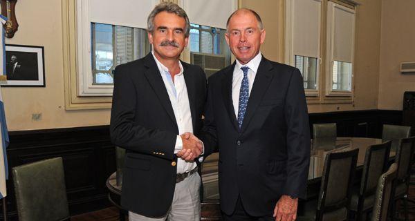 Rossi apoya la propuesta de Rosario como sede de los Panamericanos 2019