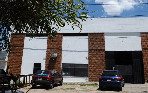 Riobamba 4300. La fábrica asaltada el 7 de diciembre pasado.