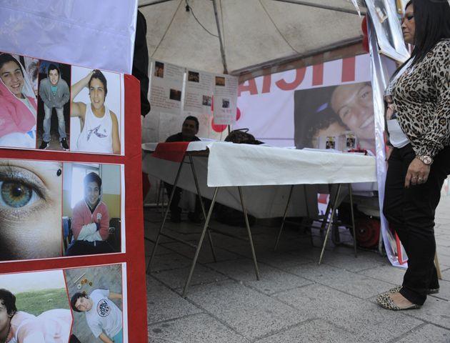 La mamá de Emiliano pide justicia por las muertes de Emi y Faku y que no haya más muertes por conductores alcoholizados. (Foto: V. Benedetto)