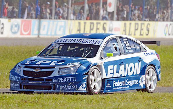"""Fontana: """"Es un regreso soñado. Gané una carrera difícil gracias a un auto que va muy rápido y es equilibrado""""."""