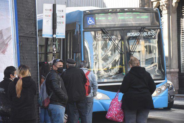 El transporte en Rosario sufre un duro golpe en lo económico y financiera.