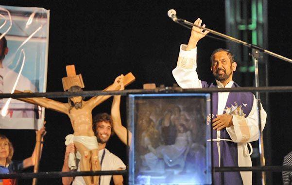 En 2013. El año pasado en Vía Crucis estuvo enmarcado en la designación del Papa Francisco.