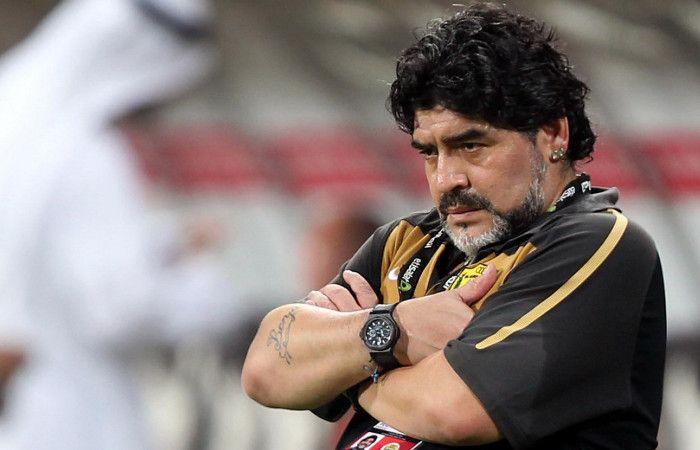 Maradona aseguró que Claudia quería que se muriera para quedarse con todo