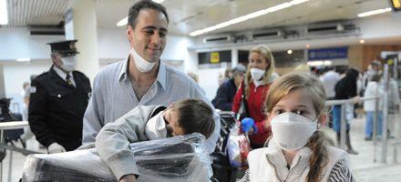 Llegaron los argentinos varados en México por suspensión de vuelos