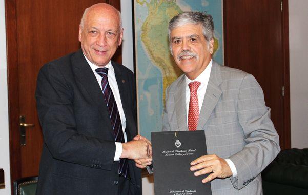 Hay acuerdo. Bonfatti y De Vido mantuvieron ayer un encuentro centrado en la energía