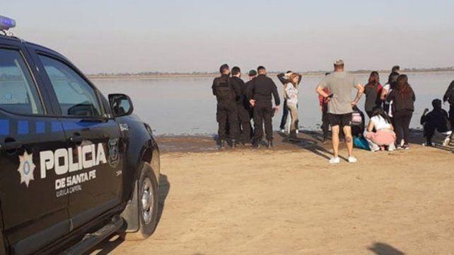 Encontraron los cuerpos de las dos personas que intentaron cruzar a pie la laguna Setúbal
