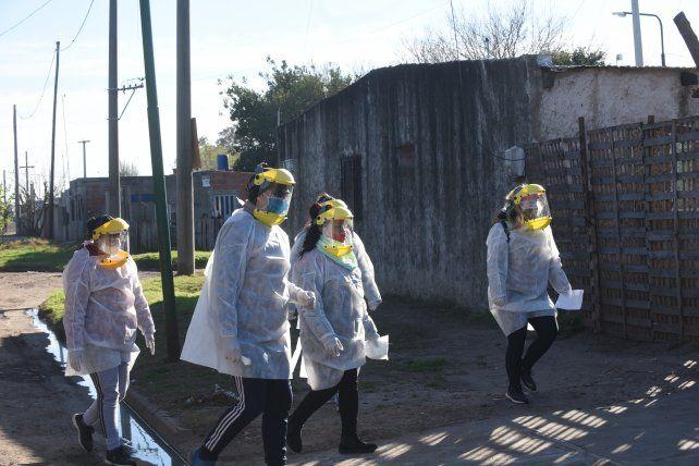 Nación se sumó al  Plan Detectar en el barrio La Cerámica