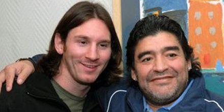 Maradona: Barcelona puede dar millones, pero Argentina, la gloria
