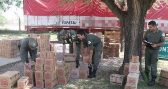 Incautan en el norte santafesino 310 mil municiones en un camión que venía a Rosario