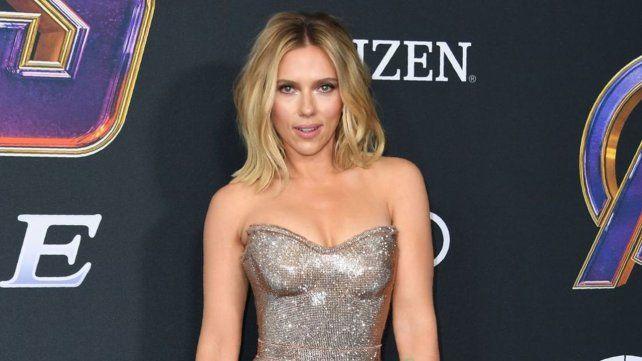 Scarlett Johansson es la actriz mejor paga