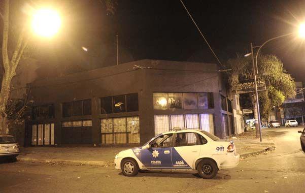 Sin fiesta. Flow Social Club no abrió sus puertas el sábado a la medianoche.
