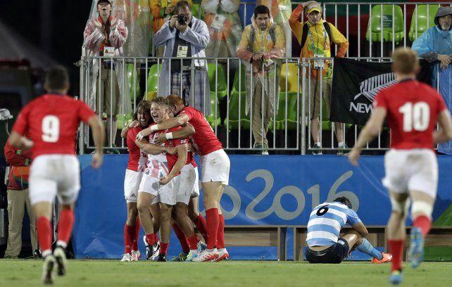 Desconsuelo. El equipo argentino lo tuvo para ganar pero no fue contundente