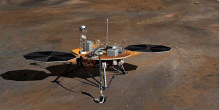 La sonda Phoenix se aproxima a Marte: buscará indicios de vida en el planeta rojo