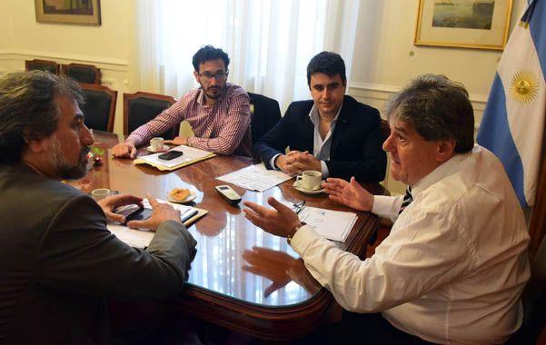 Acuerdo. La Concejalía Popular se reunió con diputados.