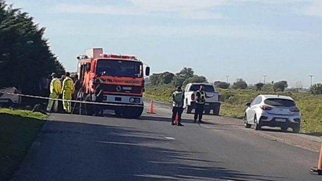 El accidente se dio sobre el kilómetro 38 de la autopista.