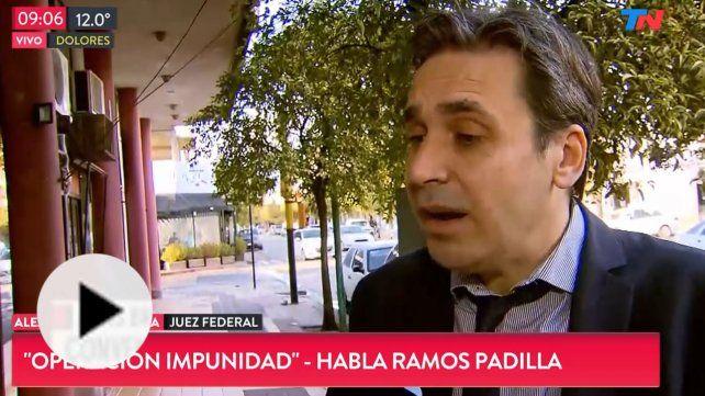 Ramos Padilla reveló que hubo espionaje político a Lifschitz