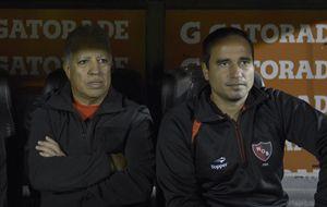 El Tolo Gallego reconoció que casi pierden el partido en una contra de San Lorenzo. (Foto: V. Benedetto)