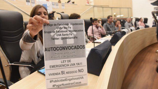 Asamblea. Ciudad Futura convocó a los hipotecados al Concejo municipal.