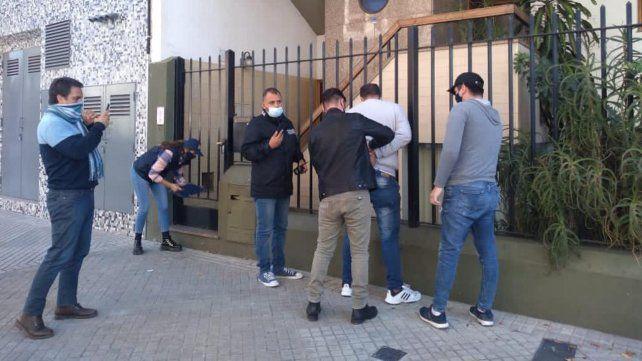 Germán P. fue detenido a la tarde tras un allanamiento en Presidente Roca al 2400.