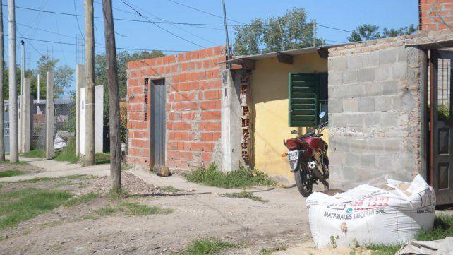 El lugar donde fue asesinado Maximiliano Acosta en abril de 2018.