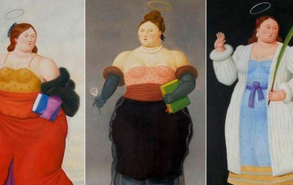 """Osado. """"El tema de las santas había desaparecido  de la pintura a partir de la Revolución Francesa"""""""