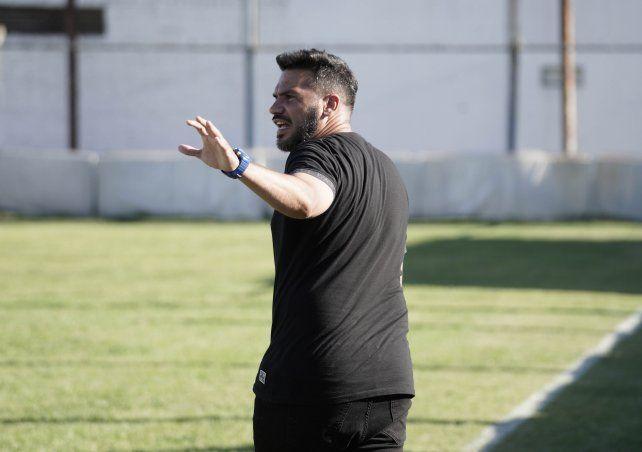El DT albo: Damián Sciretta valoró el funcionamiento que realizó el equipo ante Juventud Unida.