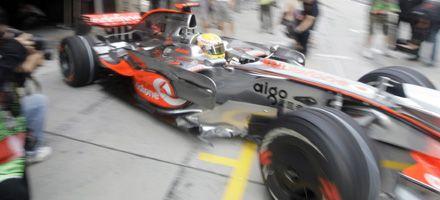 Fórmula 1: Hamilton hizo el mejor tiempo en las pruebas de Shanghai