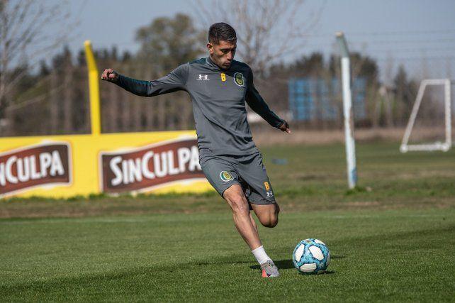 López Pissano venía siendo titular en Central hasta que tuvo que aislarse por prevención.