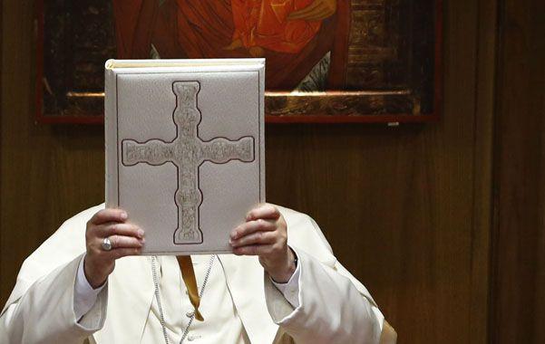 Querido Francisco. La misiva fue firmada por mujeres de Italia