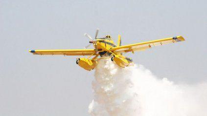 El acuerdo con Fearca le permite al gobierno provincial disponer de los aviones agrícolas y dar una respuesta rápida ante una quema