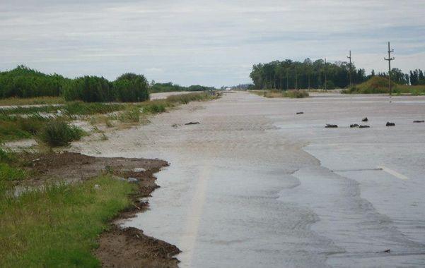 Los desbordes del Totoras generaron en más de una ocasión problemas de inundaciones