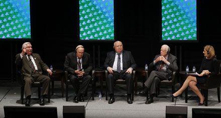 Gran cumbre por la paz y el diálogo reunió a Carter, Walesa y Gorbachov