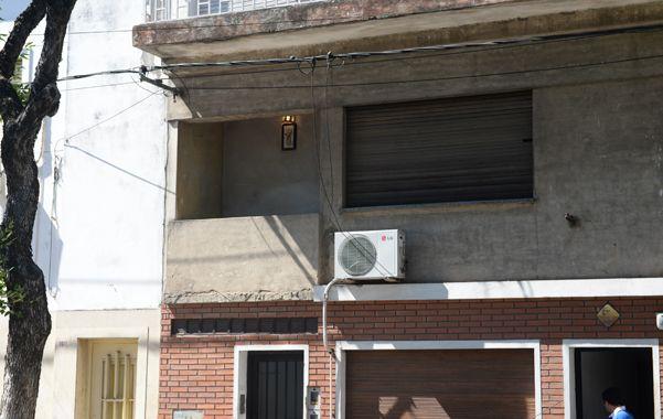 Calvano estaba en el balcón de Virasoro al 1500. Según testigos los maleantes escaparon a villa La Lata. (E.Rodríguez)