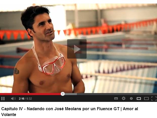 Amor al Volante   Nadando con Meolans por un Fluence GT