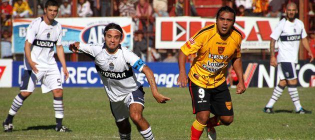 Boca Unidos protagonizó con Gimnasia uno de los duelos de la tarde de lunes.