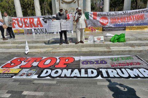 Malestar. Mexicanos protestan contra la reforma migratoria de EEUU.
