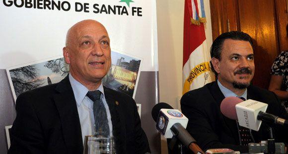 Antonio Bonfatti presentó su gabinete, que tendrá tres ministros radicales