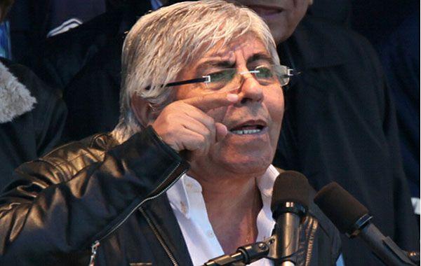 Moyano también se refirió a las críticas que recibió por reunirse con Eduardo Duhalde.