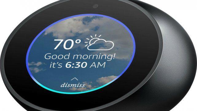 Alerta. Un dispositivo de Amazon equipado con Alexa.