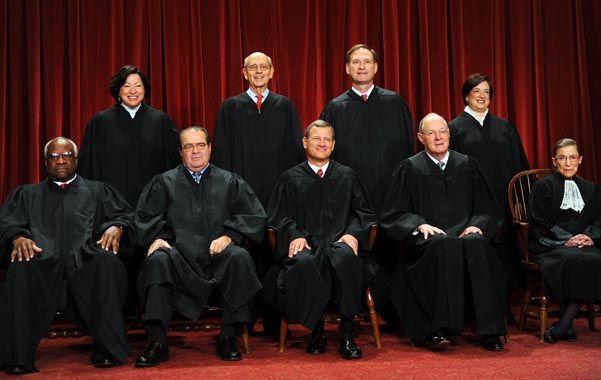 En disputa. La Corte Suprema de Estados Unidos le propinó un duro revés a la Argentina.