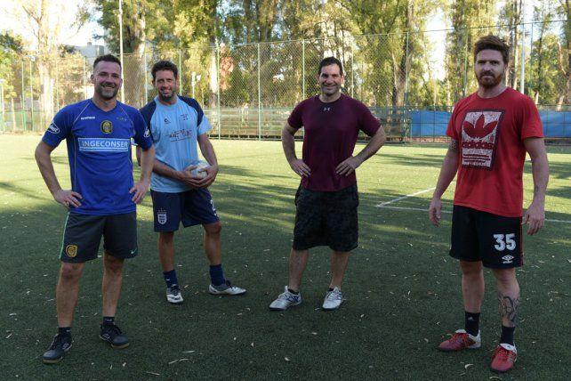Carlos Kerckhaert, Gabriel Ablahan, Germán Tosto Y Martin Valencia.