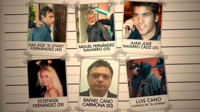 Detenidos. Los detenidos por el ataque en la plaza del Congreso que acabó con la vida del asesor MIguel Yadón e hirió al diputado Héctor Olivares.
