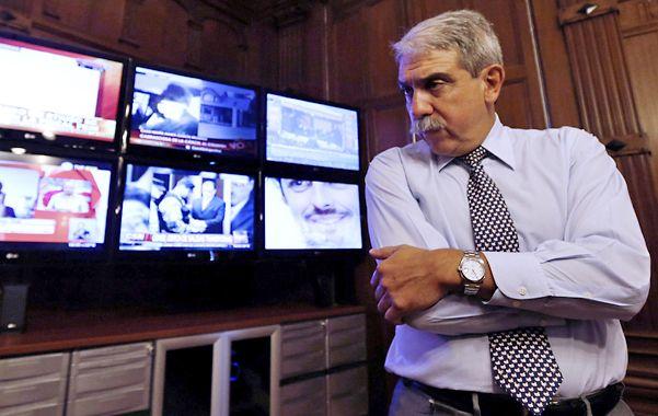 """indignado. El jefe de Gabinete dijo que Bastianes """"no es un periodista"""" y por eso """"no tiene derecho a guardar la fuente""""."""